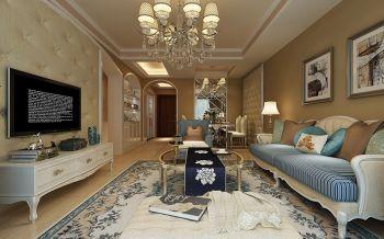名邦国际90平米简欧风格新房装修效果图