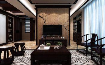 中央宫园中式120-180平米跃层家居装修效果图
