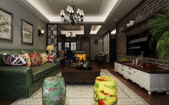 依澜雅居美式家居120-180平米室内套房装修效果图