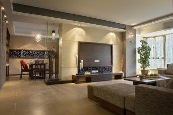 簕竹花园现代风格110平米装修效果图