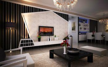 【6万】简约风格110平米室内装修设计效果图
