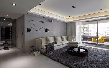 渝中花园简约100平米室内新房装修效果图