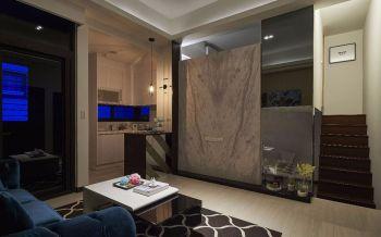 古典混搭风格小复式70平米室内装修设计效果图
