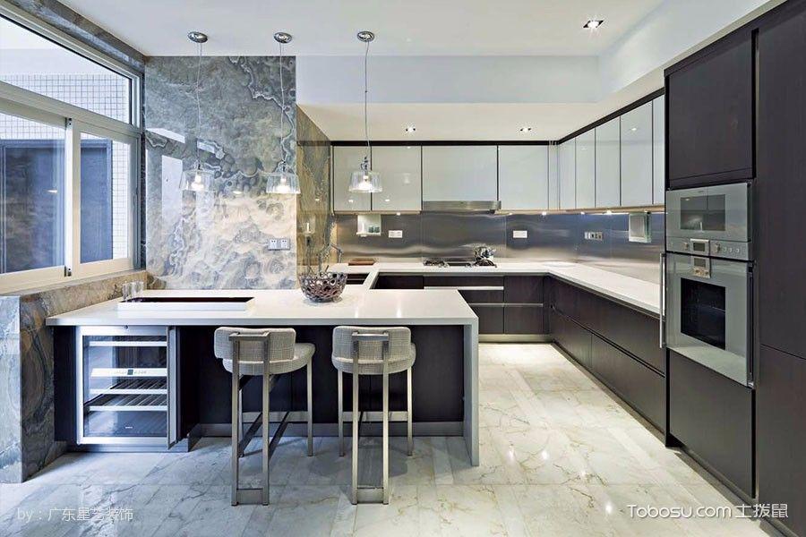 厨房吧台简约风格装潢设计图片图片