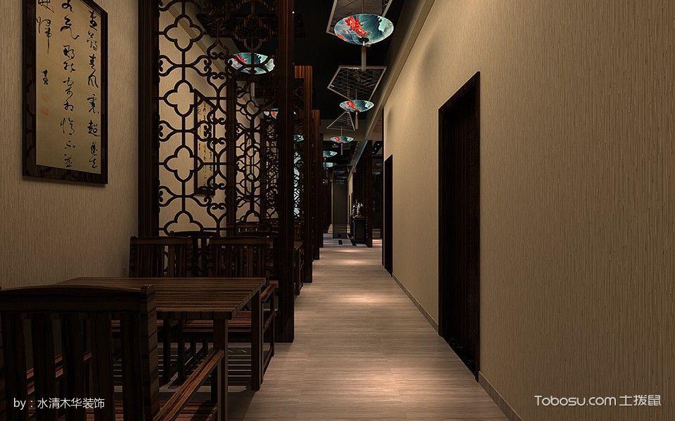 长江饭店餐馆餐厅走廊装修图片
