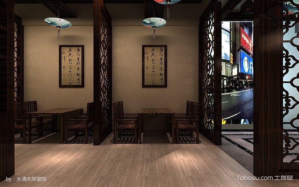 长江饭店餐馆餐厅背景墙装修图片