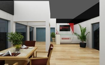 德国朗阁移门室内展厅装修效果图