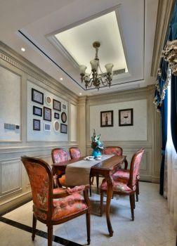 餐厅照片墙现代欧式风格装潢设计图片