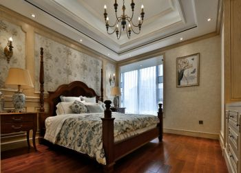 卧室吊顶现代欧式风格效果图