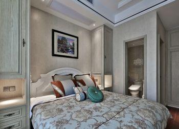 卧室背景墙现代欧式风格装修效果图