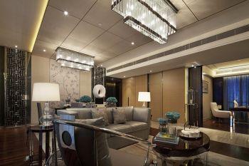 现代典雅港式120-180平米四室一厅一卫装修效果图