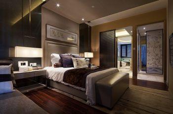 卧室推拉门现代风格装修效果图