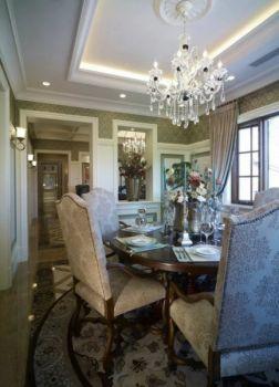 餐厅吊顶美式风格装饰设计图片
