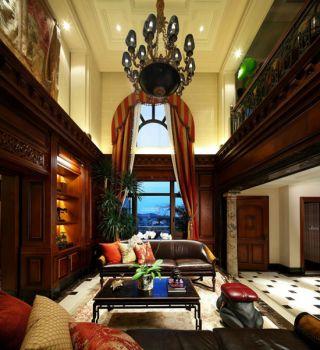 客厅吊顶法式风格装修效果图