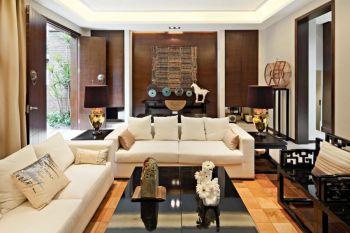 【45万】中式风格120-180平米小户型别墅装修效果图