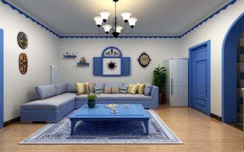 地中海风格三室两厅120-180平米装修效果图