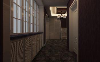 客厅走廊现代欧式风格装饰设计图片