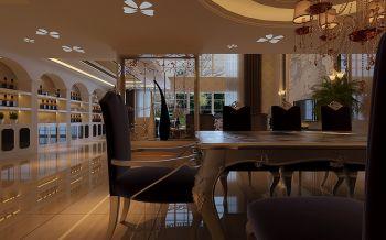 餐厅吊顶现代欧式风格装潢设计图片