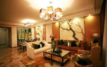 【33万】现代混搭风格三房两厅舒适装修效果图
