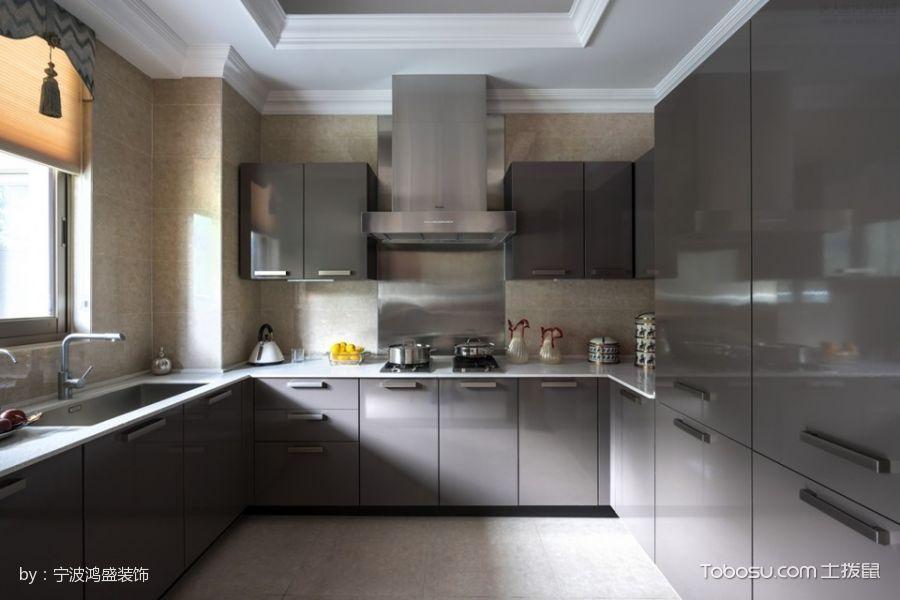 2019现代欧式厨房装修图 2019现代欧式橱柜装修设计