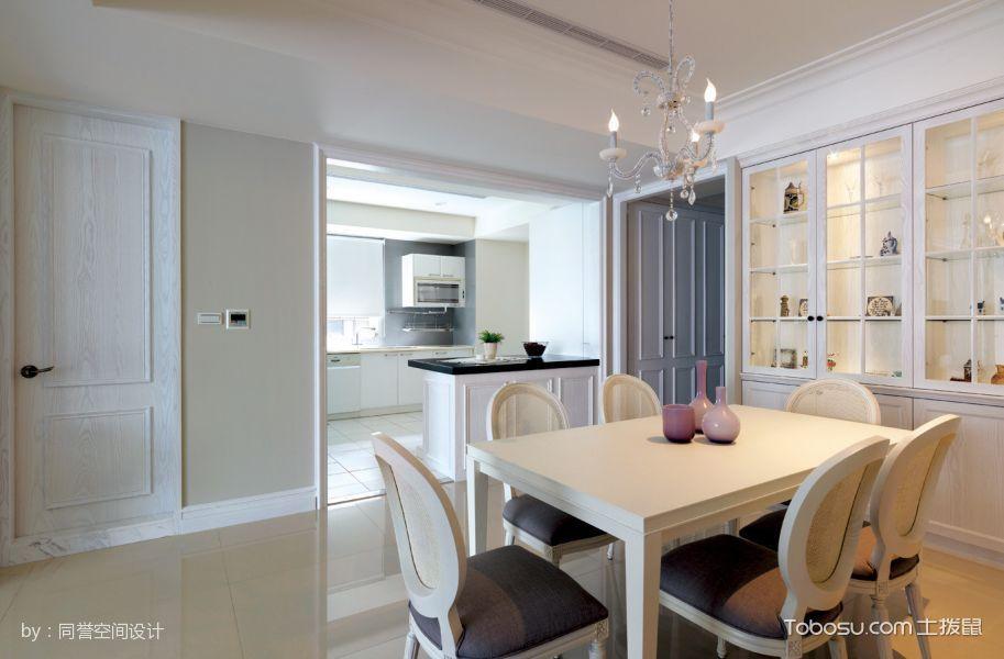 白色现代简约风格舒适120平米套房装修效果图