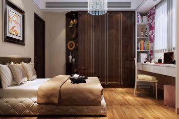 【11万】东风广场现代欧式100平米三居室装修效果图