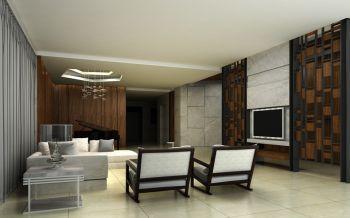 大墩路劉公館现代混搭简约146平米楼房装修效果图