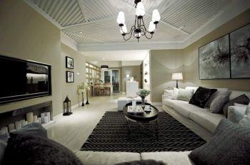 通州通县150平米白色现代简约风格三房装修效果图