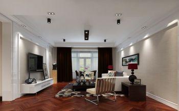 【30万】现代简约平层四房两厅170平米装修效果图