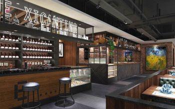 120万万达主题餐厅茶厅室内装修效果图