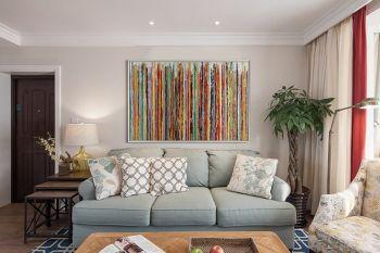 177平米简美风格彩色家居套房装修效果图