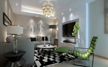 海印桥现代简约三房两厅120平米装修效果图