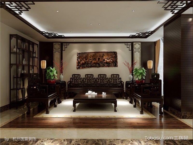 瑞博国际接待室红木座位装修图片