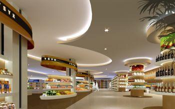 40萬天津南開區超市便利店設計裝修效果圖