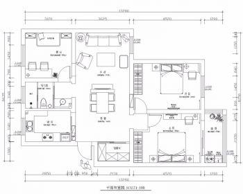 2021后现代100平米图片 2021后现代套房设计图片