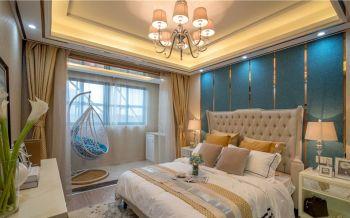 2020现代欧式90平米效果图 2020现代欧式二居室装修设计
