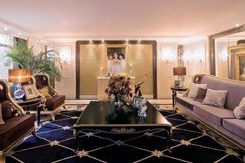 10万金地格林现代欧式四房1厅装修效果图