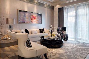 30万现代古典家装178平米大户型装修效果图