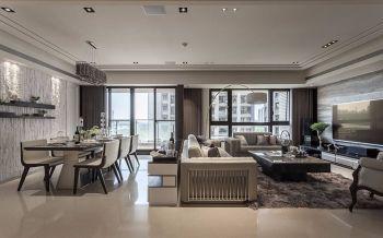 28万海尔玫瑰兰庭现代古典三室一厅装修效果图