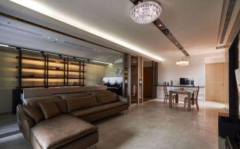 13万欣苑简单家居100平米三室两厅装修效果图