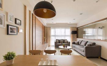 110平米青岛万科紫台简约3室2厅装修效果图