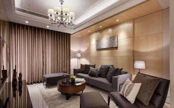 美寓天城现代古典简约风100平米套房装修效果图