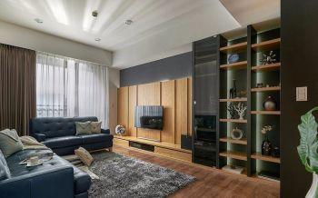 四季香邑豪华现代风80平米两室一厅装修效果图
