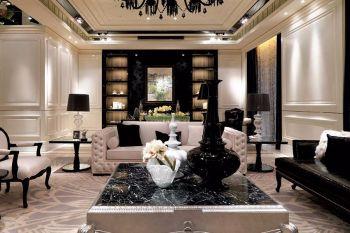 20万翠水园简欧混搭新古典四房一厅155平装修效果图