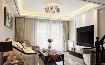 10万现代欧式风格米色套房装修效果图