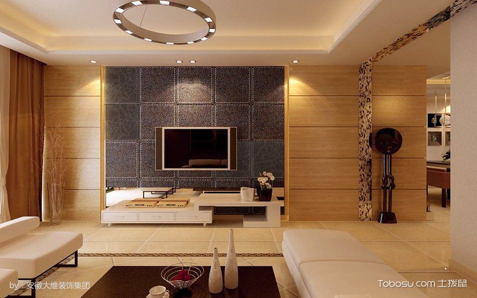 安高城市天地现代简约3室2厅100平米装修效果图