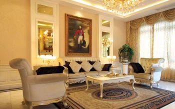 简约法式典雅155平米三室一厅装修效果图