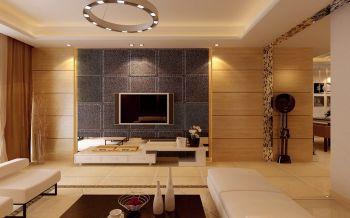 2019现代简约100平米图片 2019现代简约三居室装修设计图片