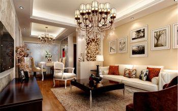 2021现代欧式110平米装修图片 2021现代欧式三居室装修设计图片