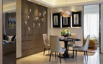 三室两厅现代风格小户型90平米装修效果图
